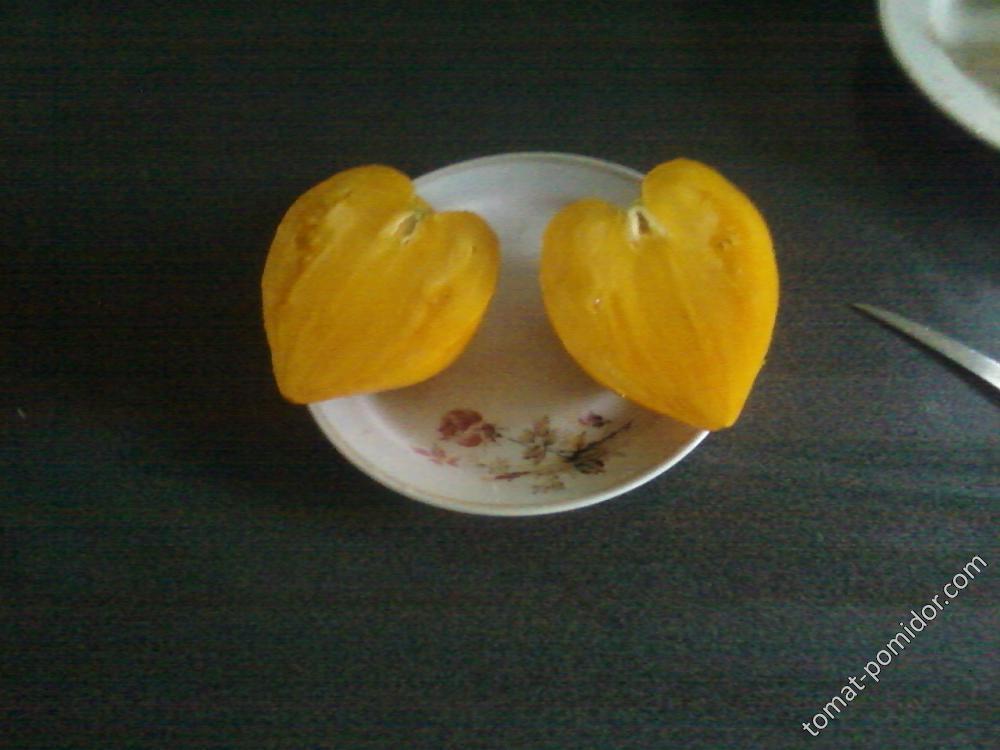 Оранжевое сердце(Лискин нос)
