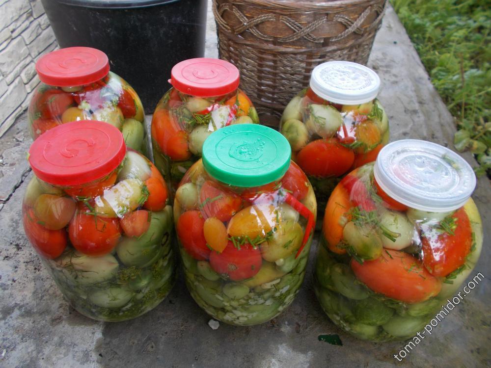 томаты соленые
