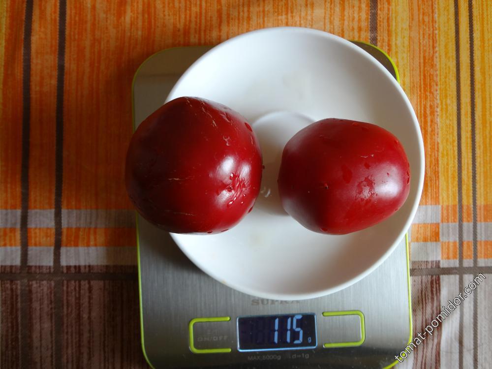 Красный помидорный (назв. усл.)