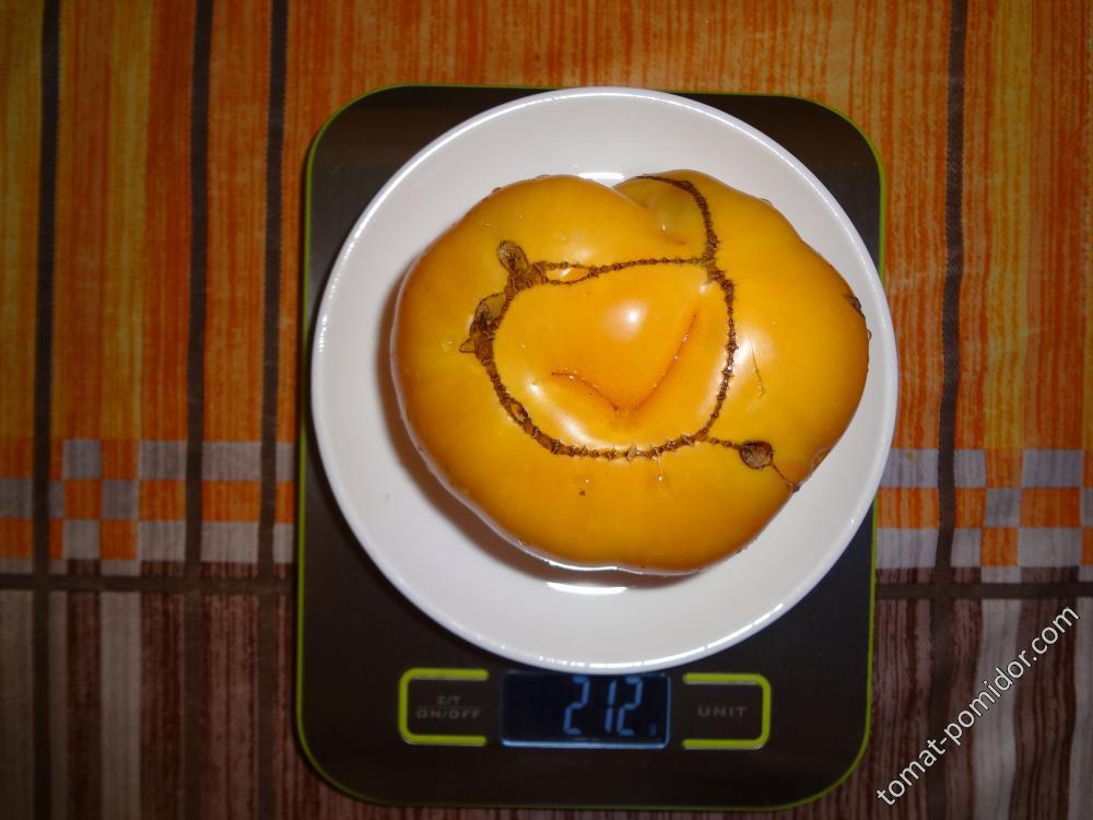 Гавайский ананас вес