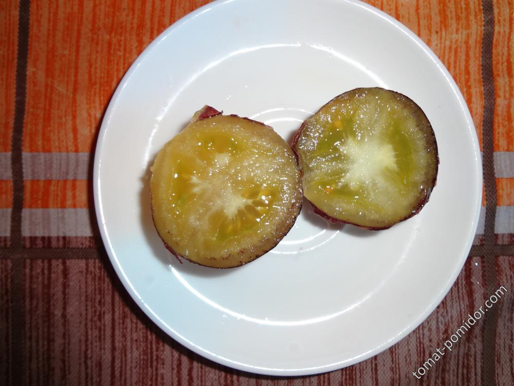 золотая лесная яблоня разрез