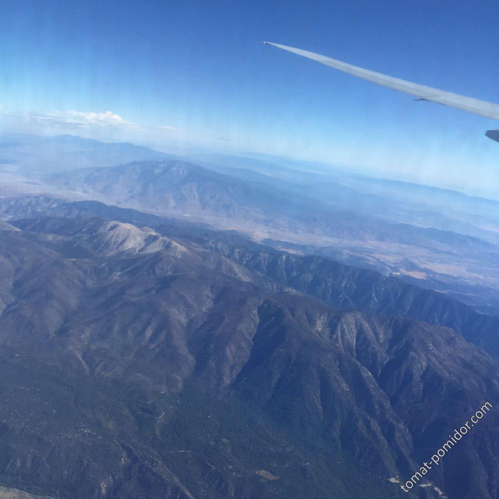 Под крылом самолета... Америка