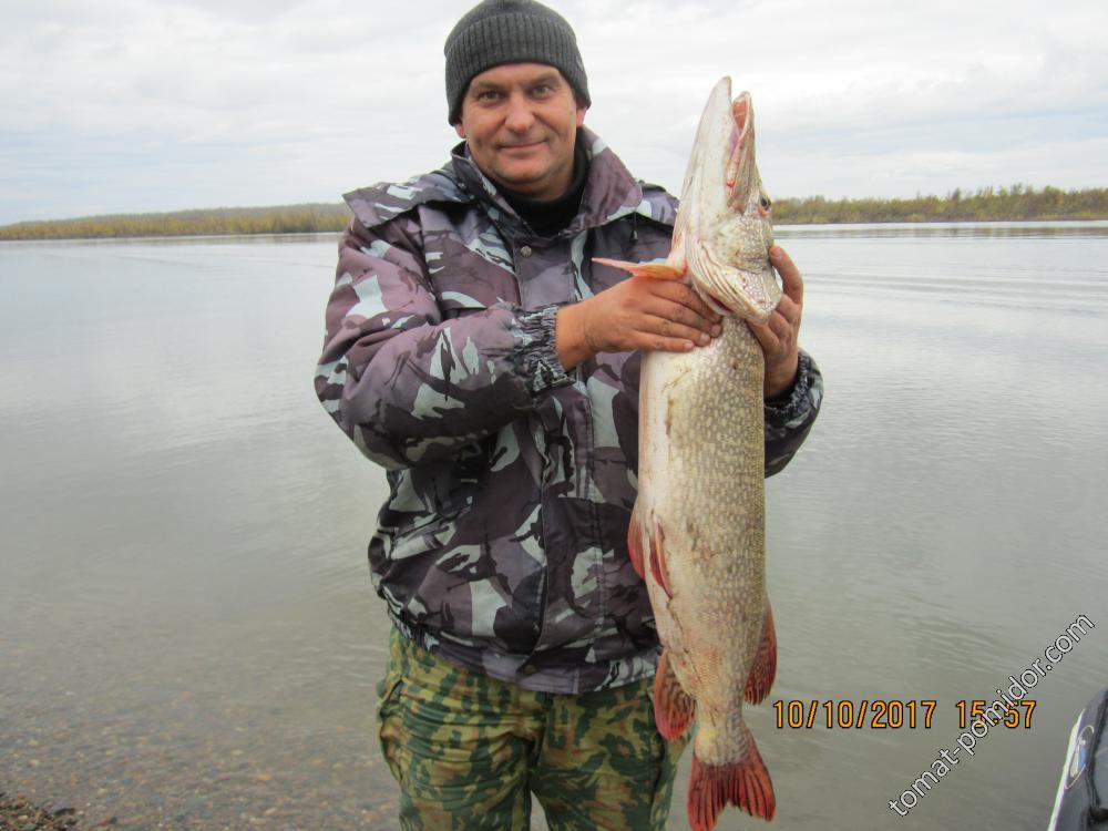 Мой друг с рыбалки