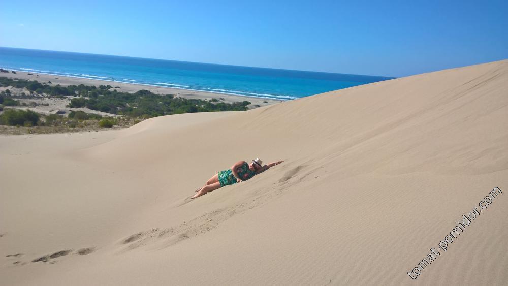 горячее солнце,горячий песок...
