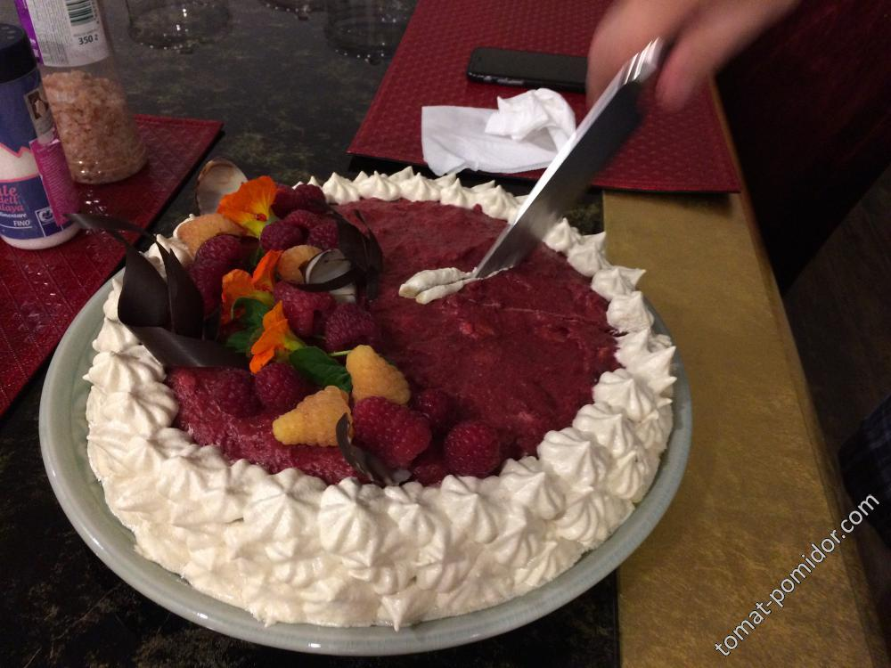 Халвовый торт