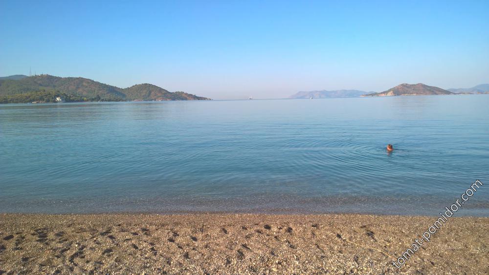 Фетхие .пляж
