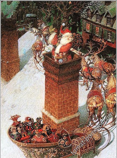 замечательный иллюстратор Геннадий Спирин