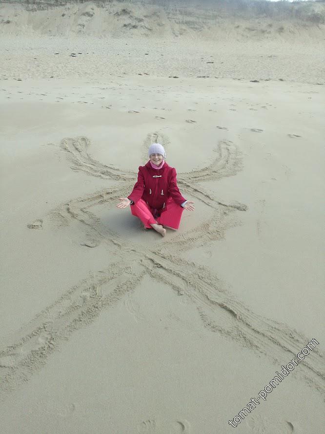 В отпуске на пляже