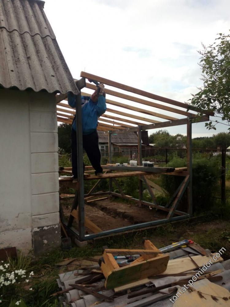строим веранду