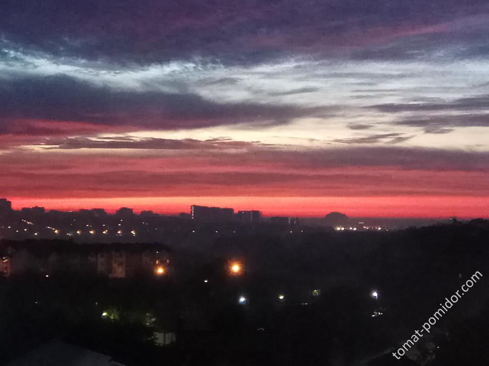 Рассвет 30.10.18
